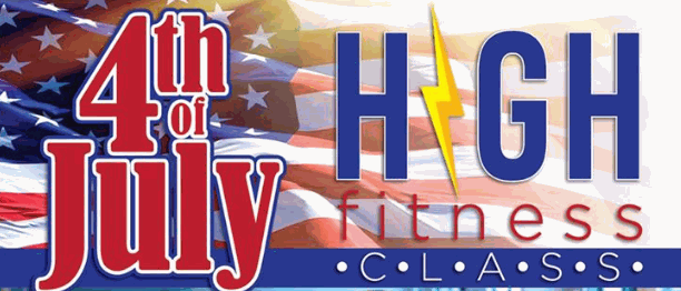 4th of July High Fitness Class