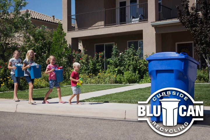 Blucan Curbside Recycling
