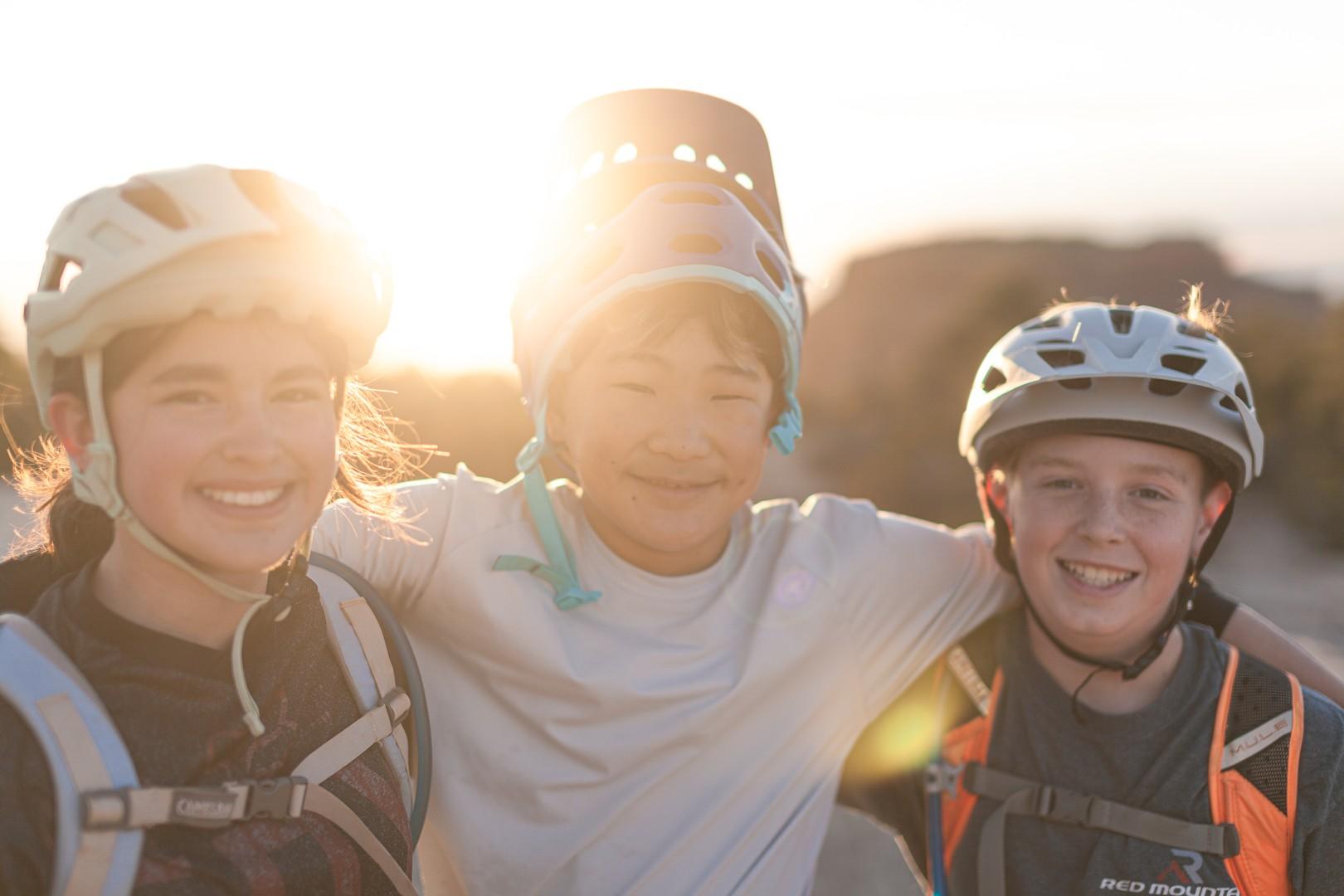 Youth Mountain Biking