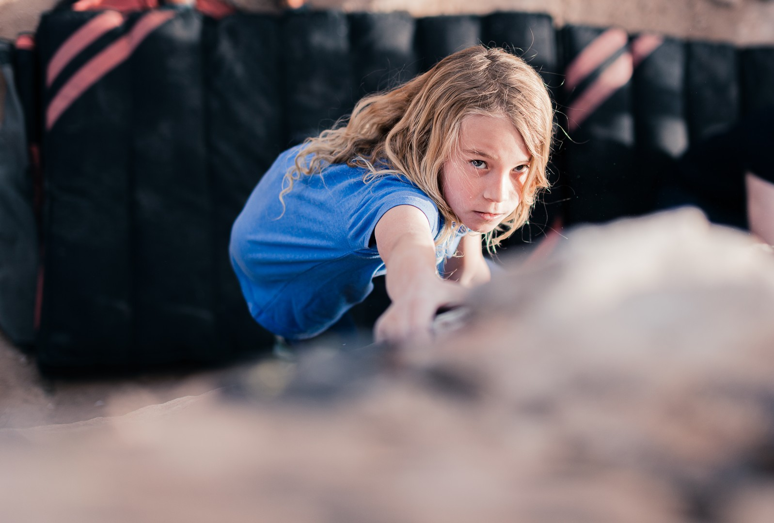 Youth Bouldering