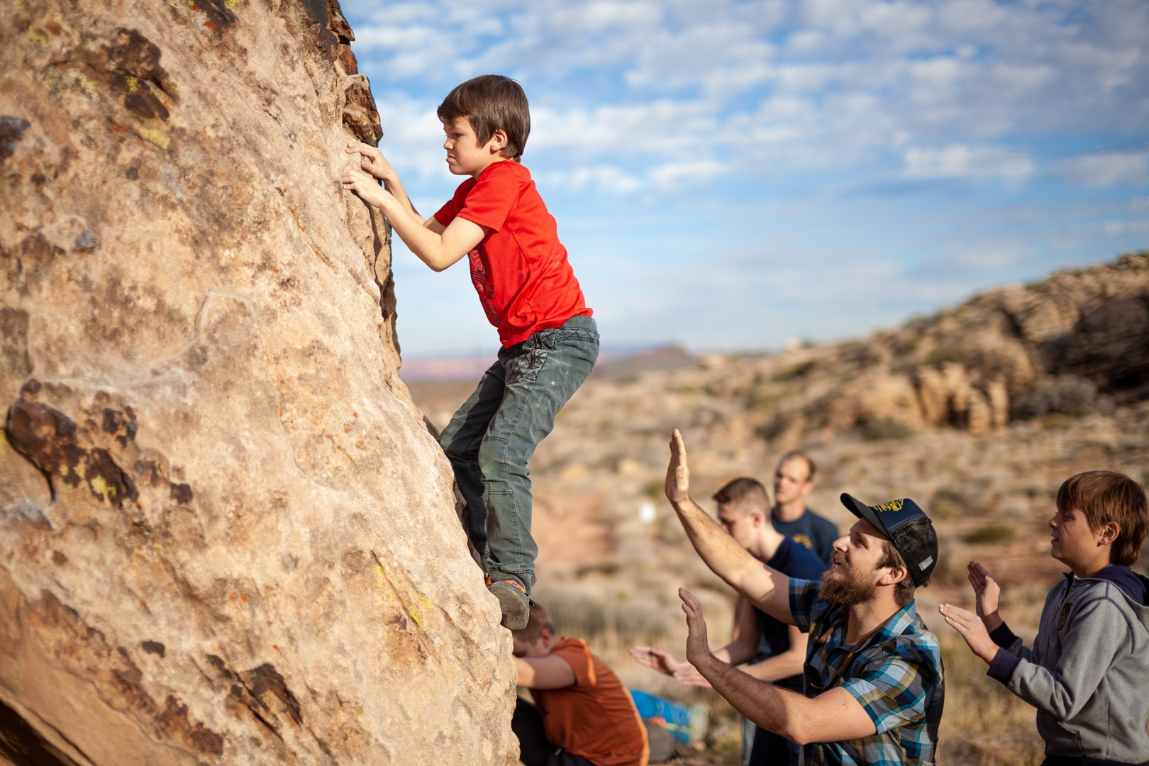Spring Bouldering and Mountain Biking Camps