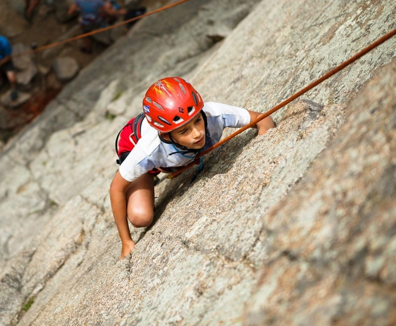 Youth Roped Climbing Ages 10+