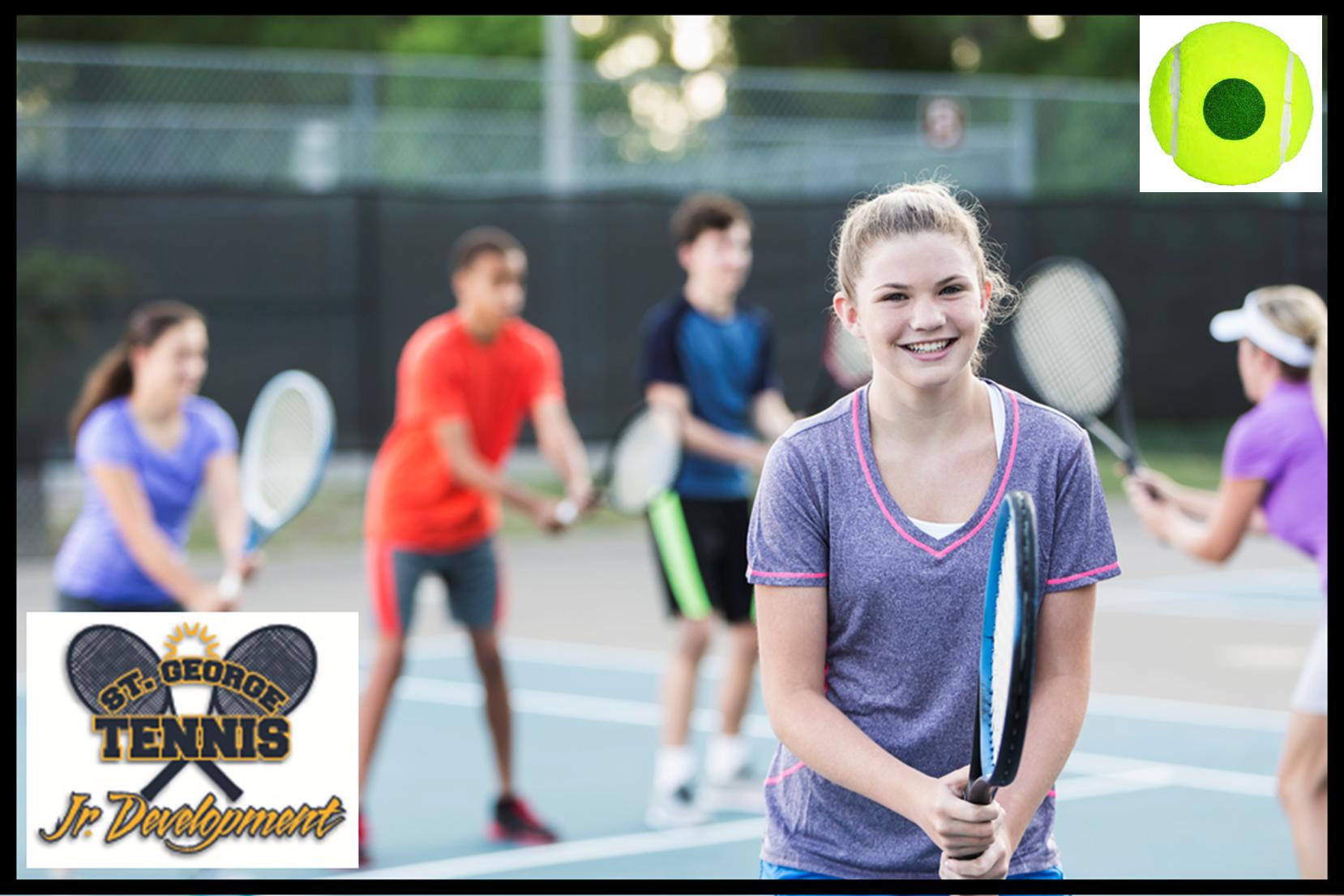 Jr. Development Tennis / Ages 10 to 14