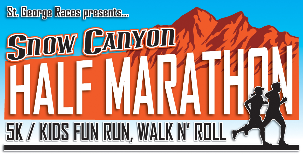 Snow Canyon Half | 5k | Fun Run Walk n' Roll