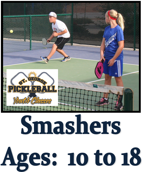 Smashers Pickleball / Ages 11 to 18