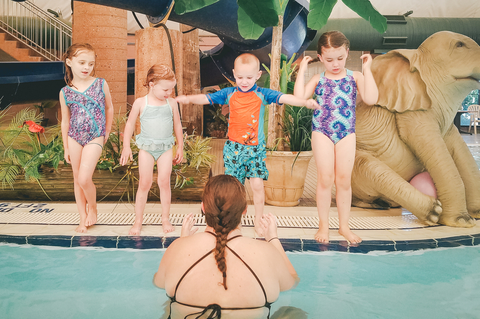 Swimming Lessons at Sand Hollow Aquatic Center